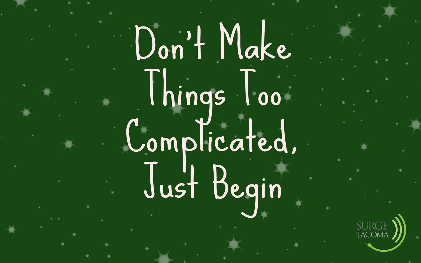 just begin #coworking